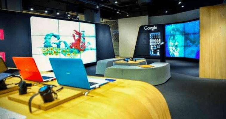 Google abre en Londres su primera tienda física