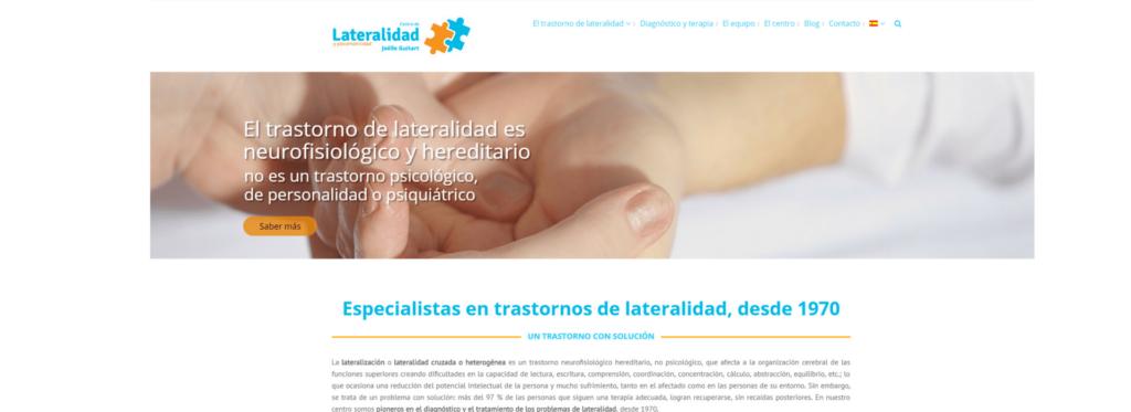SEO: la web del Centro de Lateralidad alcanza las 18 000 visitas mensuales_Lladó Comunicación