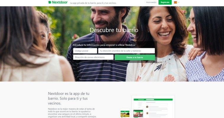 Llega a España Nextdoor, la App para conectarte con los vecinos de tu barrio