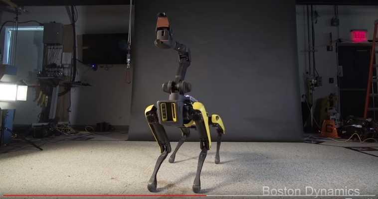Haz un' break' para ver el baile funky del robot-perro de Boston Dynamics ;-)