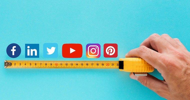 Las dimensiones adecuadas de las imágenes para las redes sociales